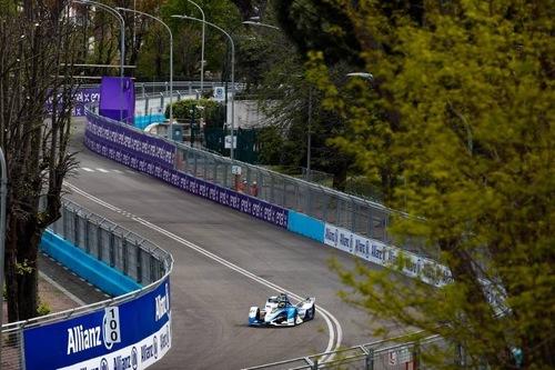 Formula E, E-Prix di Roma: vince Evans (7)