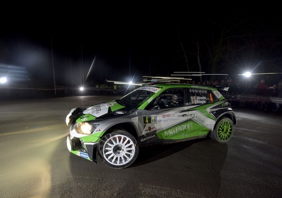 CIR 2019. Rallye Sanremo. The Incredible Breen (Skoda)