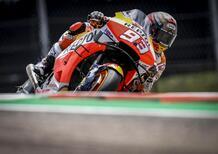 MotoGP. Márquez primo nel warm-up ad Austin