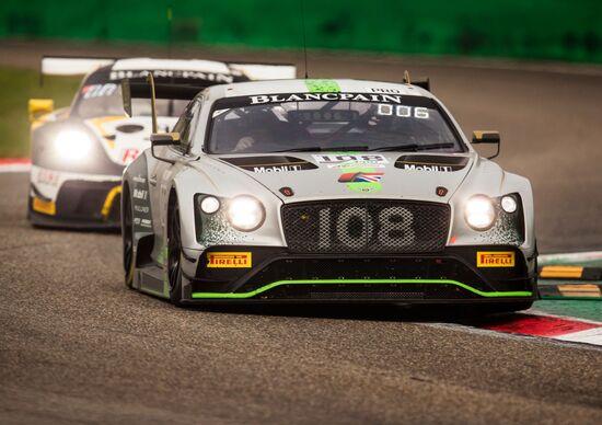 Bentley, dietro le quinte del Blancpain GT Series