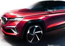 Skoda Vision GT, la concept al Salone di Shanghai