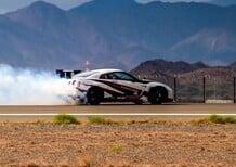 Nissan GT-R: derapata record a 304,96 km/h