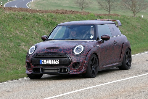 Mini John Cooper Works GP, le foto spia al Ring (2)