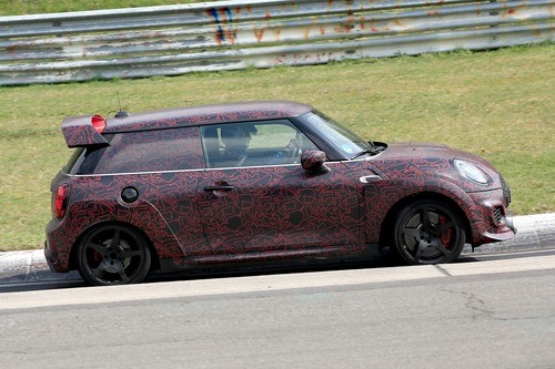 Mini John Cooper Works GP, le foto spia al Ring (8)