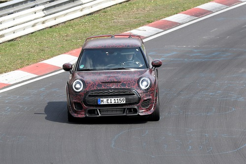 Mini John Cooper Works GP, le foto spia al Ring (9)