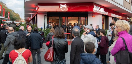 Ducati Roma: festa grande per la doppia location (4)
