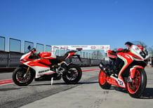 Ducati Panigale 959 Corse vs MV Agusta F3 800 RC. Medie per scelta