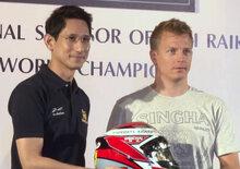 La birra thai della Ferrari passa all'Alfa Romeo Racing: volere di Kimi Raikkonen