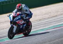 Luca Salvadori: il test della BMW HP4 Race