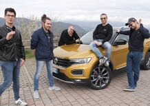 Volkswagen T-Roc, Test Drive vincitori Contest: in auto con Galeazzi e Bordoni [video]