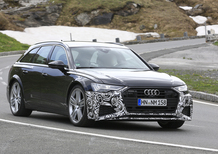 Audi RS6 Avant, il video spia
