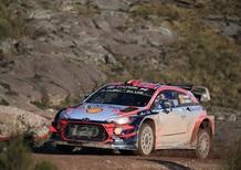 WRC 2019. Argentina. Sabato di Sole e Grande Neuville