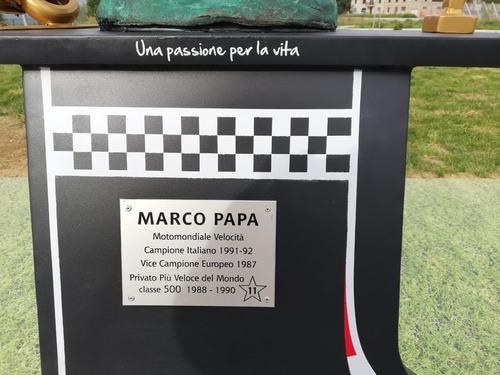 Una rotonda per ricordare Marco Papa (7)