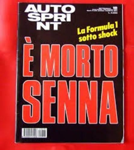 F1: Senna, 25 anni dopo: i titoli dei giornali dell'epoca (2)