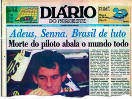 F1: Senna, 25 anni dopo: i titoli dei giornali dell'epoca (4)