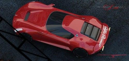Alfa Romeo LEA, ipotesi sulla nuova 8C (5)