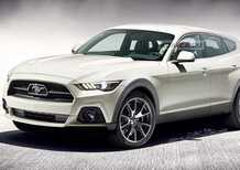 Ford Mustang SUV: il render della novità elettrica