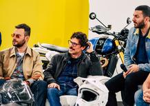 Nel salotto di Moto.it l'attore Francesco Montanari presenta MOARD