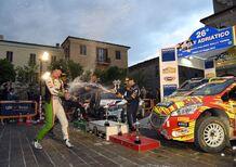 Rally Terra 2019. Consani' (Skoda), Festa Francese all'Adriatico