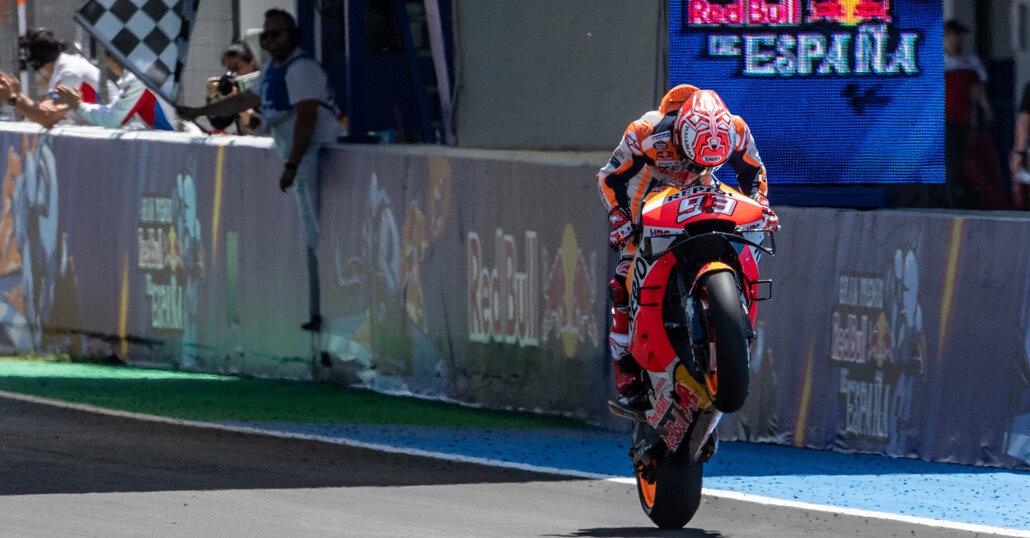 MotoGP 2019. Jerez, Marquez: Non vinco perché ho la Honda