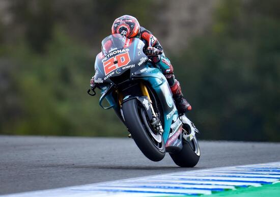 Jerez test 2019. Quartararo il più veloce