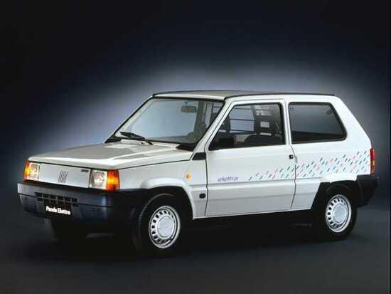 La Fiat Panda Elettra nasce nel 1990