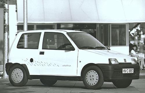 Le Fiat Elettra. C'erano una volta la Panda e la Seicento elettrica (8)