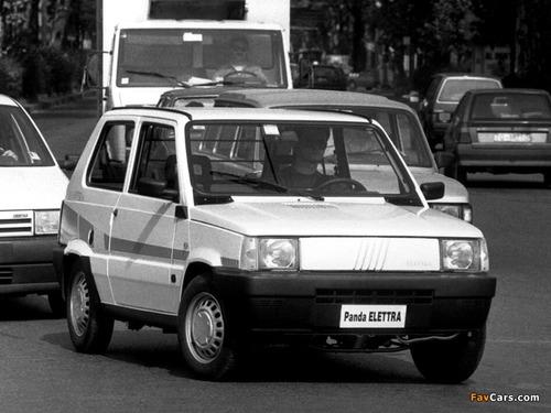 Le Fiat Elettra. C'erano una volta la Panda e la Seicento elettrica (2)