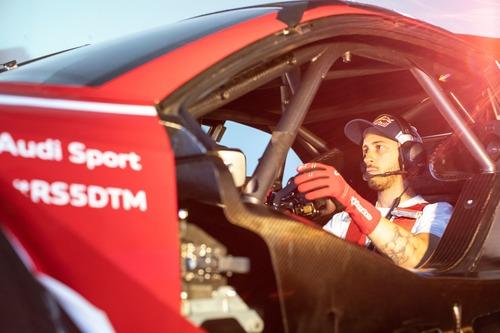 Dovizioso nel DTM con l'Audi RS5! (2)