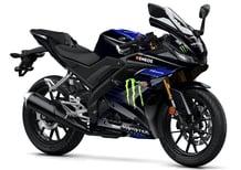 Yamaha YZF-R125 Monster Energy 2019: MotoGP replica