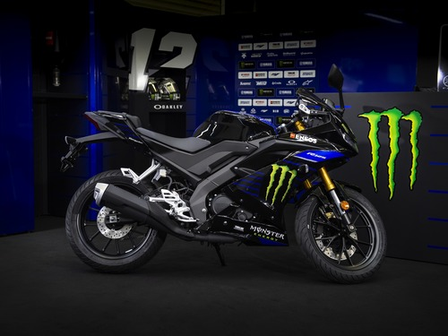 Yamaha YZF-R125 Monster Energy 2019: MotoGP replica