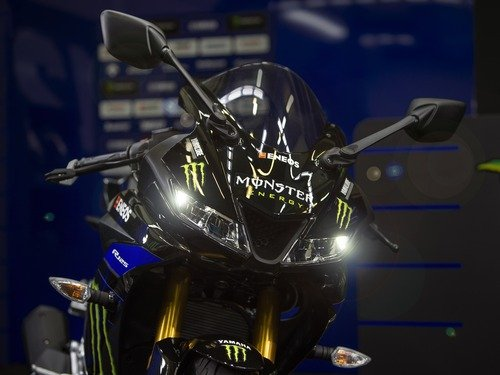 Yamaha YZF-R125 Monster Energy 2019: MotoGP replica (8)