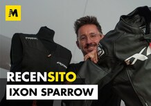 Ixon Sparrow. Recensito giacca in pelle da moto