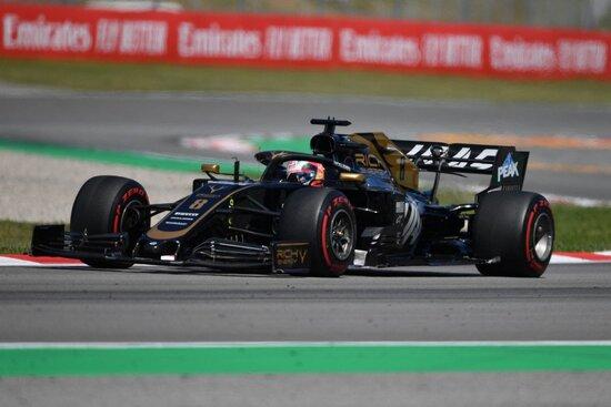 Un punto per Grosjean in Spagna
