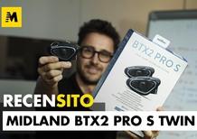 Midland BTX2 Pro S Twin. Recensione interfono moto