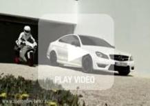 Spot Mercedes AMG, una Ducati 848 dal sound sospetto
