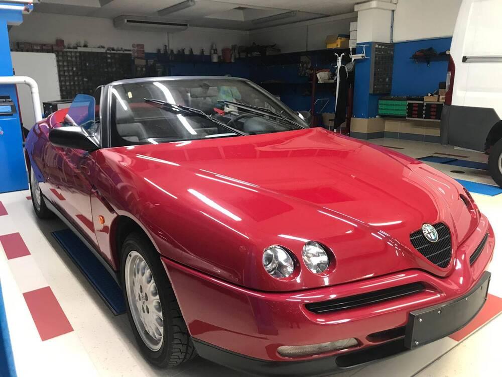 GTV Spider d'epoca del 1996 a Nave (2)