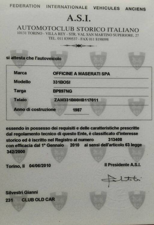 Biturbo Si d'epoca del 2001 a Genzano di Roma (3)