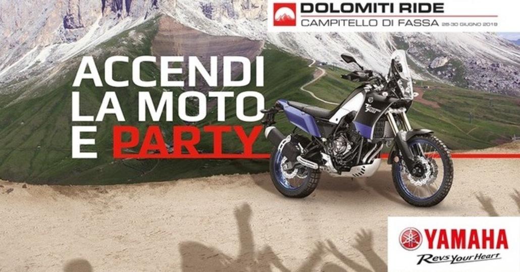 Yamaha Dolomiti Ride 2019: si torna a Campitello di Fassa