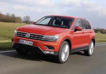 Nuova Volkswagen Tiguan: i prezzi di listino