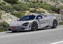 McLaren: avvistata la prima supercar ibrida [Foto spia]