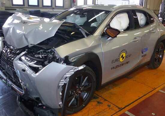 Crash test Euro NCAP, Mazda 3 al top dopo l'ultima sessione di test