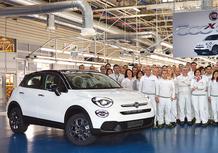 Fiat 500X: è nato l'esemplare numero 500.000!