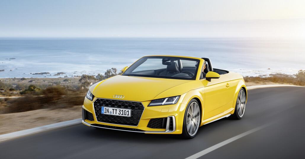 Audi: fine dell'era TT, sarà sostituita da un modello elettrico