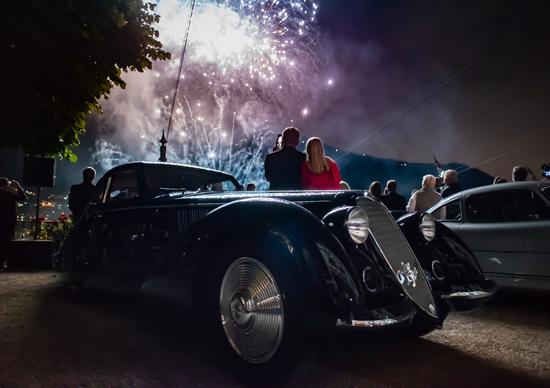 Alfa Romeo 8C 2900B Best of Show a Villa d'Este. Vale 20 milioni di euro!