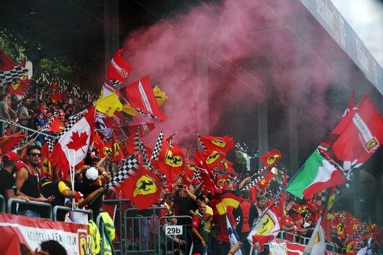 Il pubblico di Monza è il vero spettacolo del GP d'Italia