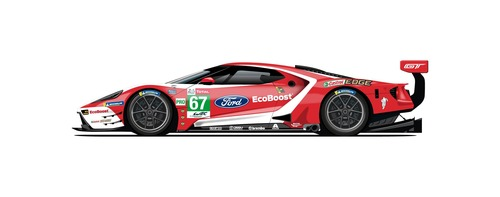 Ford GT: alla 24 ore di Le Mans con 5 livree celebrative (5)