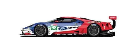 La stessa livrea che ha vinto la 24 ore di Le Mans nel 2016