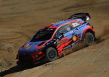 WRC19. Portogallo. Shakedown Criptato. Ma Neuville (Hyundai)
