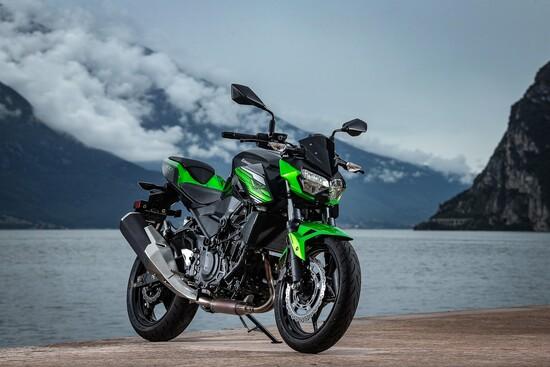 La nuova Kawasaki Z400